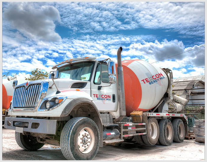 concrete mix truck driving jobs